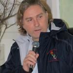 Andrea Reggiani alla presentazione ufficiale della stagione 2013/2014